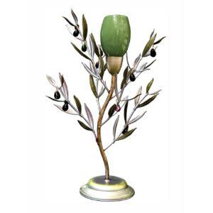 Sobremesa Olivo con tulipa