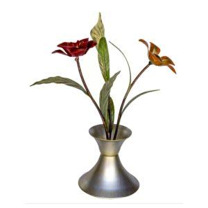 Motivo decorativo floral 2 flores