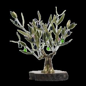 Olivo Grande en base de madera