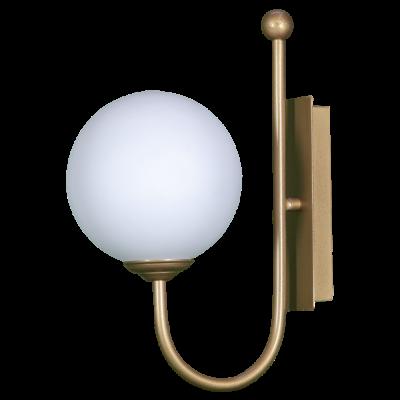 Aplique rectangular con bola opal