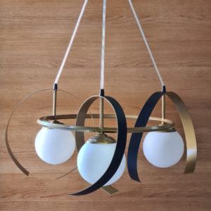 Lámpara Átomo de 3 luces